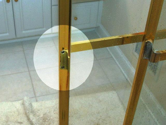 Реставрация бронзовой дверной ручки