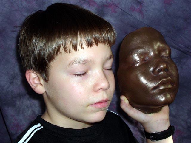 Снятие копии с детского лица с помощью Body Double