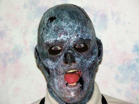 Быстрое изготовление маски зомби