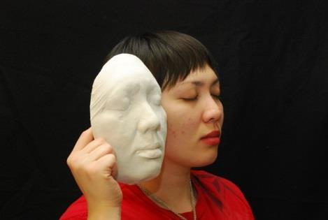Снятие формы с лица используя Alja-Safe Acrobat
