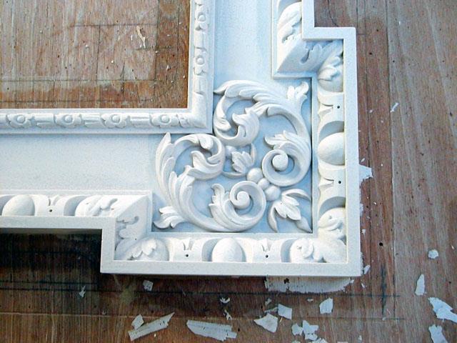 Восстановление 300-от летней рамки с помощью Mold Max