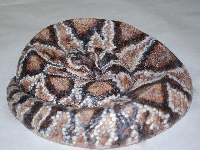 Реалистичная копия змеи из Dragon Skin
