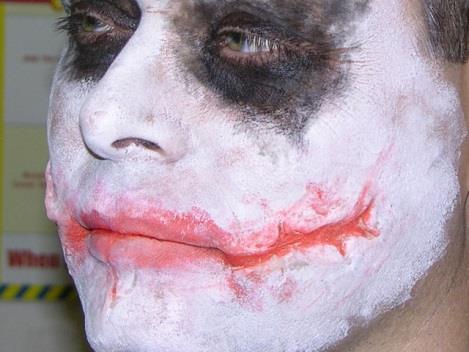Изготовление шрама как у Джокера