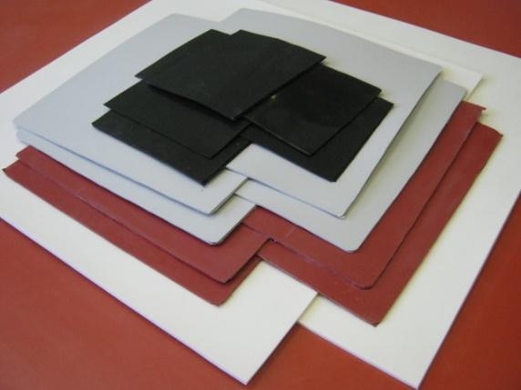 Пластина силиконовая резинотканевая