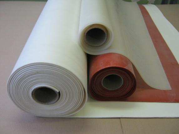 Листы, пластины силиконовые пористые