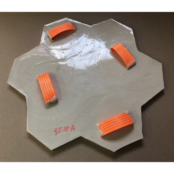 Штамп для печатного бетона Рваный камень F3010А