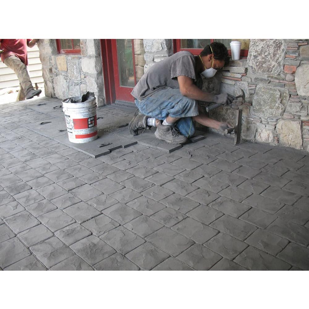 форма для печатного бетона