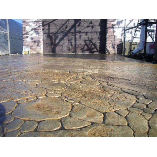 Готовый штамп для декоративного бетона Садовый камень F3130