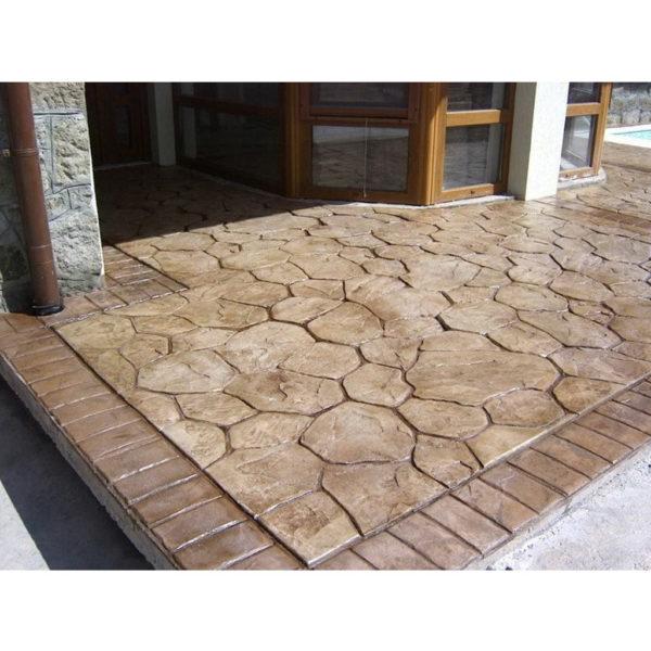 Готовый штамп для декоративного бетона Бордюр Кирпич F3220