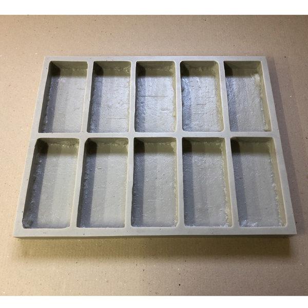 Полиуретановая форма для плитки Клинкерная брусчатка F4130В