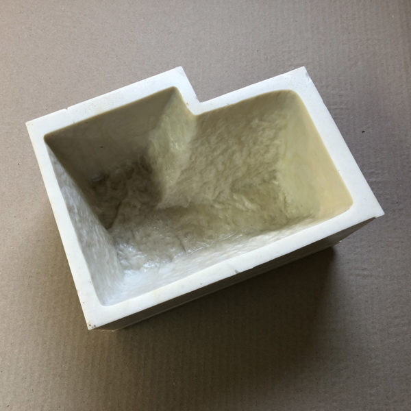 Готовая форма для плитки Бордюрный камень F4160F