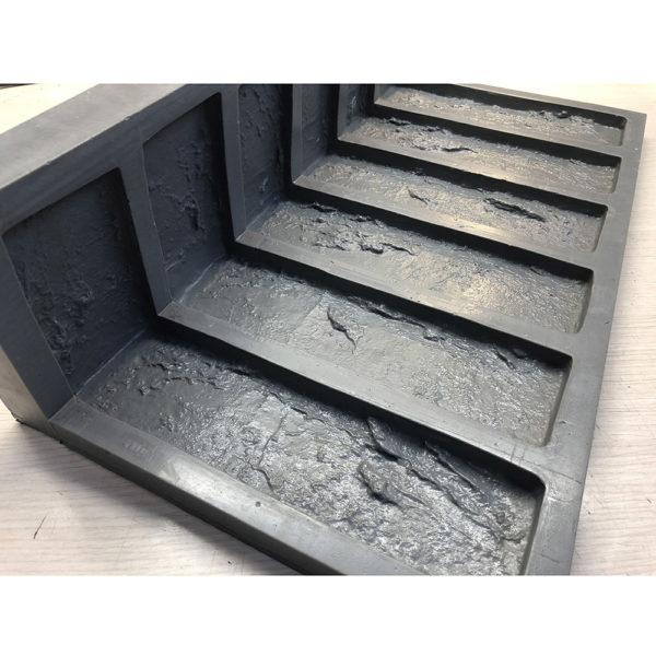 Полиуретановая форма Заводской кирпич Угол литой F610C