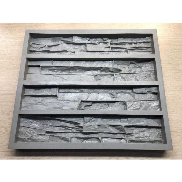 Полиуретановая форма для декоративного камня Сланец Скала F160B