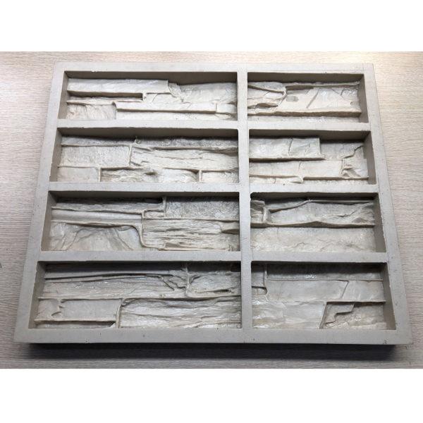Полиуретановая форма для декоративного камня Сланец Скала F160E