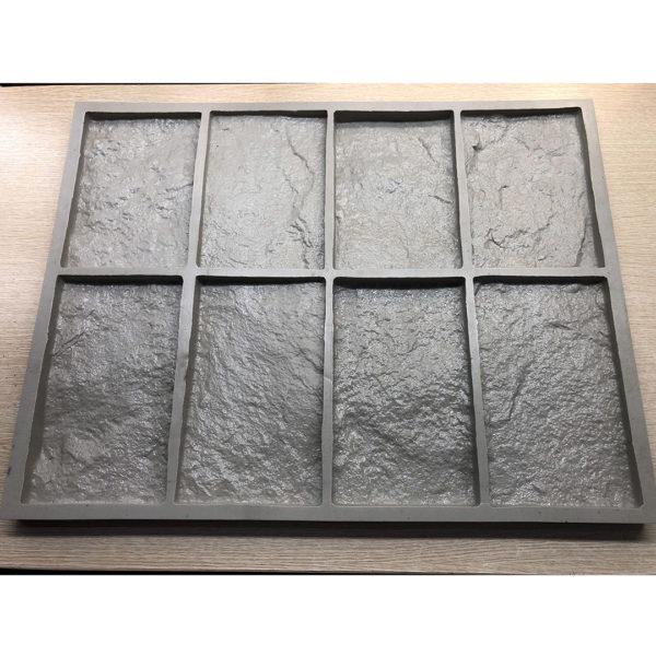 Полиуретановая форма для декоративного камня Шинон F240B
