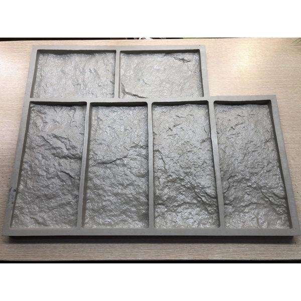 Полиуретановая форма для декоративного камня Шинон F240C