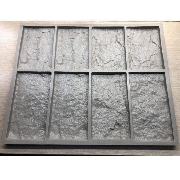 Полиуретановая форма для декоративного камня Шинон F240E