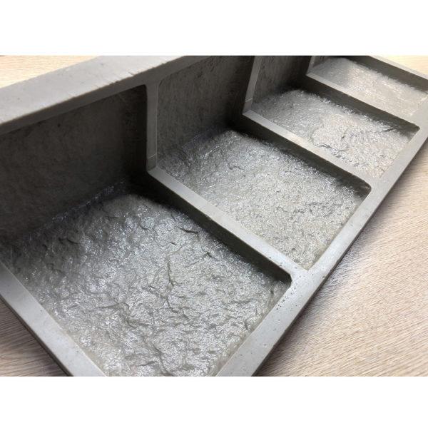 Полиуретановая форма для декоративного камня Шинон Угол литой F240H