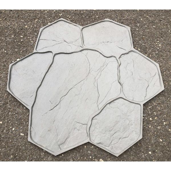 Штамп для печатного бетона Рваный камень F3010В