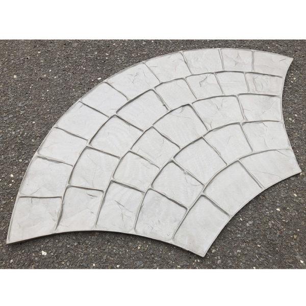 Полиуретановый штамп для печатного бетона Веер F3021