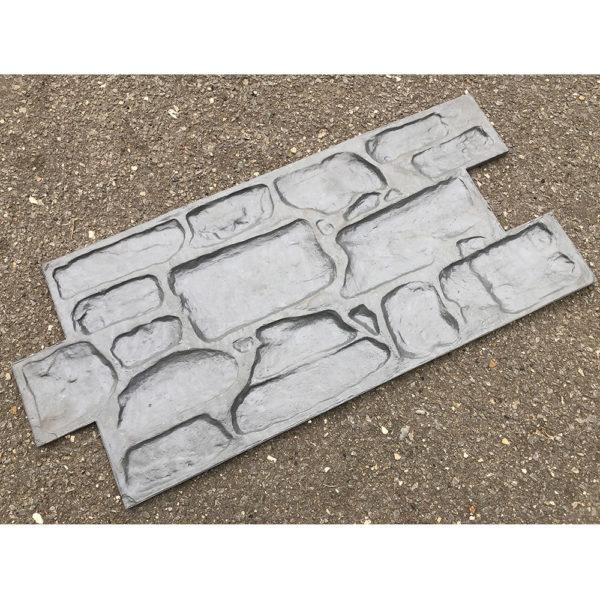 Полиуретановый штамп для декоративного бетона Английский камень F3101