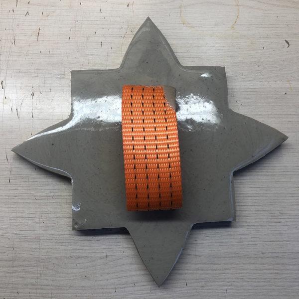 Полиуретановый штамп для печатного бетона Славянские символы F3350B