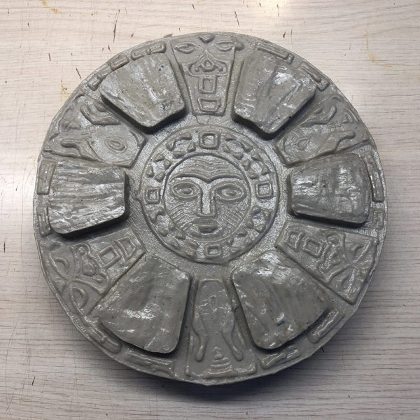 Полиуретановый штамп для печатного бетона Славянские символы F3350C