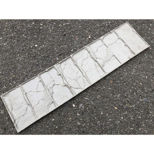 Полиуретановый штамп для печатного бетона Бордюр Старый замок F3371