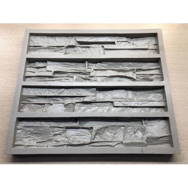 Полиуретановая форма для декоративного камня Сланец Скала F160D