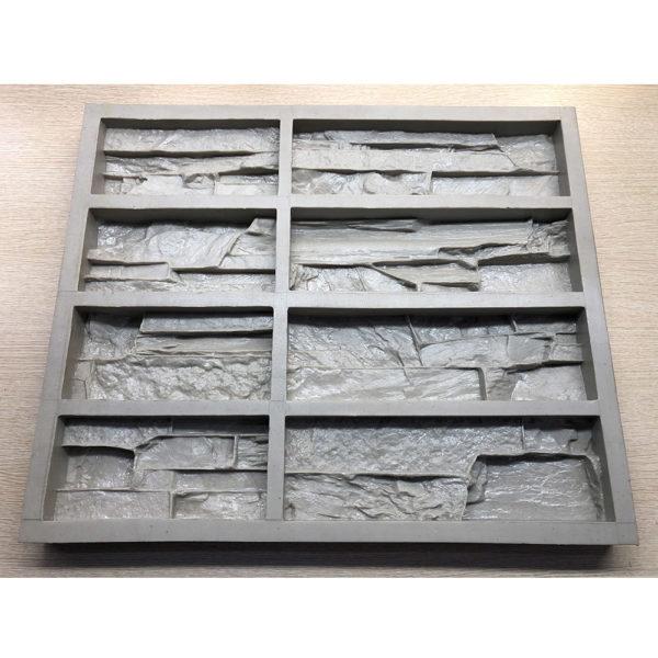 Полиуретановая форма для декоративного камня Сланец Скала F160F