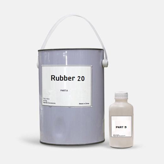 Формовочный силикон серии Rubber 20
